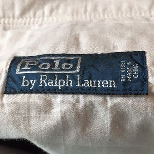 Polo by Ralph Lauren Pants - Polo muted red cargo jeans 36W x 30L
